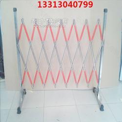不锈钢管式伸缩围栏定制图片