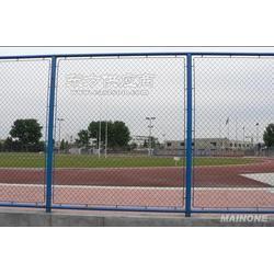 球场勾花网定做生产厂家体育场球场铁丝网场地测量图片