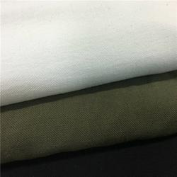 鑫超纺织GOTS有机棉布21S机织竹节布优质特级有机棉花织造图片