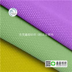 6060仿竹节棉布再生棉布桌布-再生棉布-GOTS棉布图片