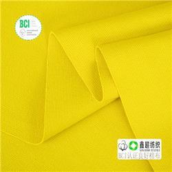 16安帆布胚布提供GOTS证书有机棉布精梳有机棉布亚麻布图片