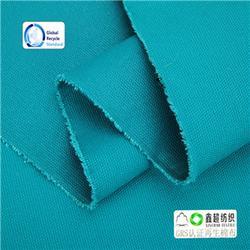 有机棉布-有机棉布厂家规格齐全16安帆布胚布提供GOTS证书图片