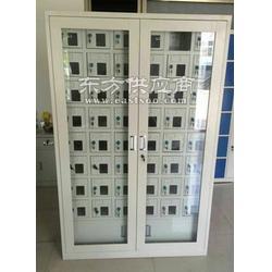 厂家钢制手机柜 员工手机存放柜 学生保管充电手机柜定制图片