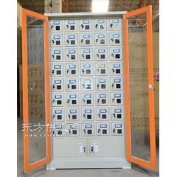 50门手机存放柜 部队专用手机寄存柜定做图片