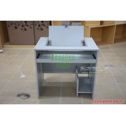 边框翻转电脑桌 学校电脑桌供应商 科桌优质商家电脑桌图片