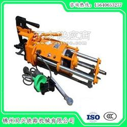 槽型轨钢轨钻孔机生产商特点分析_钢轨钻孔机代理图片