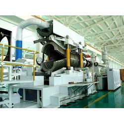 管材生产线_盛大挤出机械_pvc塑料波纹管材生产线图片