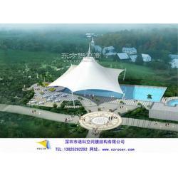 欢乐谷水上乐园膜结构图片