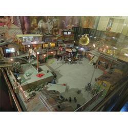 广州小区沙盘模型|力臣建筑模型|小区沙盘模型定做图片
