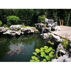 鱼池过滤系统-杭州华池园林-东营鱼池过滤图片