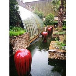 景观泻水台-杭州华池园林(在线咨询)景观水图片