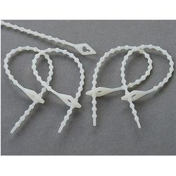 甘肃珠型扎带_东市爱迈立塑胶制品_珠型扎带销售图片