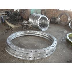 大口径碳钢高压法兰生产厂家图片