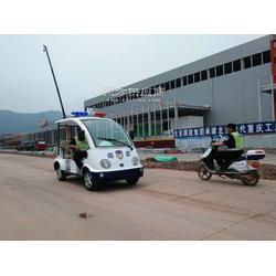 供应现代工厂保安巡逻电瓶车图片