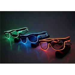 抖音发光眼镜 电子发光眼镜-发光眼镜图片