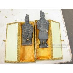 兵马俑复制品 青铜器工艺品 将军跪射文官武士佣图片