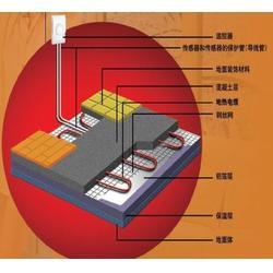 电热地暖施工工艺_玖零暖通服务至上_洞口电热地暖图片