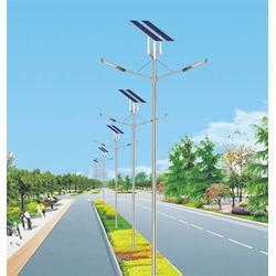 上海太阳能led路灯厂家、江苏朗鸿电气工程、路灯厂家图片