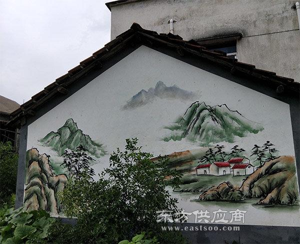 农村文化墙彩绘 杭州彩绘 萧山彩绘 查看 价格