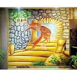 杭州文化墙,千岛湖文化墙绘,十九大文化墙