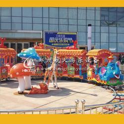 游乐设备大象火车一次投入多重获利图片