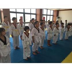 跆拳道品势|昆山杰灵体育|跆拳道品势教学图片