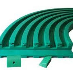 定做聚乙烯弯道导轨、聚乙烯弯道导轨、东兴橡塑图片