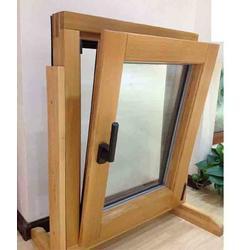 铝包木内开窗,四川铝包木门窗,南通鼎凯建材(查看)图片