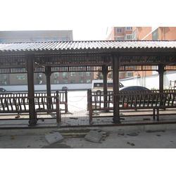廊架-南京典藏装饰木材-防腐木廊架施工图片
