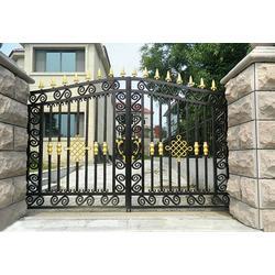 铝大门质量好|旭锋金属制品|铝大门图片