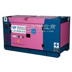 50KW小区备用静音柴油发电机图片