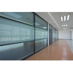 海口感应玻璃门,柯逊隔墙隔断,感应玻璃门厂家图片