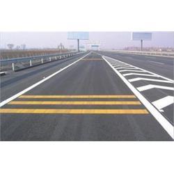 青岛停车场道路划线|专业道路划线|道路划线图片