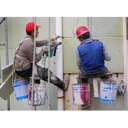 洁万家清洁公司-外墙蜘蛛人安装-北碚蔡家外墙蜘蛛人图片