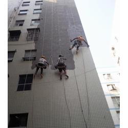 长寿蜘蛛人清洗、洁万家清洁公司、外墙安装维修图片