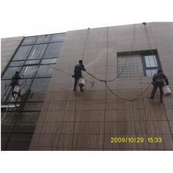 厂房学校清洁,江北鱼嘴清洁公司,蜘蛛人外墙清洗图片