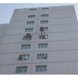 重庆江北外墙清洗|教学楼外墙清洗|重庆洁万家清洁公司图片