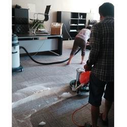 洗地毯、办公室地毯清洁、北碚洗地毯保洁公司图片