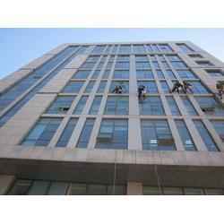 江津珞璜外墙玻璃清洗、正规外墙清洗资质、洁万家清洁公司图片
