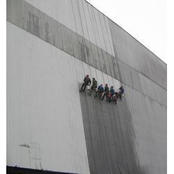 洁万家外墙蜘蛛人公司 大厦外墙清洗-巴南李家沱外墙清洗图片