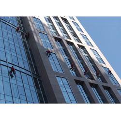 江津珞璜外墙砖排险、高空玻璃清洗图片