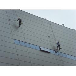 綦江外墙清洗-洁万家外墙蜘蛛人公司-蜘蛛人高空维修安装图片