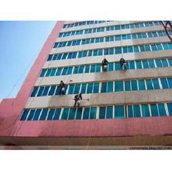 合川外墙清洗-洁万家高空服务公司-外墙落水管安装图片