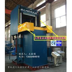 热压机_锦九洲_600T四柱热压机碳纤维热压机图片