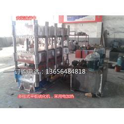 热压机、青岛锦九洲、供高密度纤维材料大型四柱热压机图片