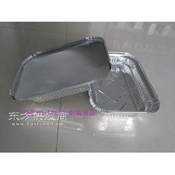 650ml锡纸方盒�h饭外卖打包盒 烧烤快餐铝箔餐盒1000套 配纸盖图片