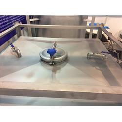 不锈钢化工包装桶 山东专业生产不锈钢集装桶-德州集装桶图片