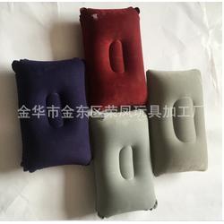 植绒充气枕-河南充气枕-荣凤玩具厂新颖美观(查看)图片