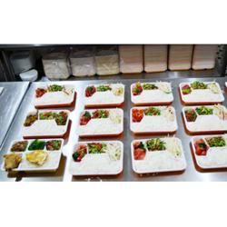 快餐盒饭配送-盒饭配送-好滋味餐饮(查看)图片