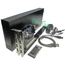 IT-GO 笔记本PCI扩展卡坞 Express转PCI插槽转接卡 外接声卡显卡 加长款图片
